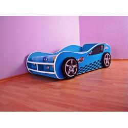 Pat copii masina Blue GT