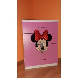 Comoda 4 sertare Minnie