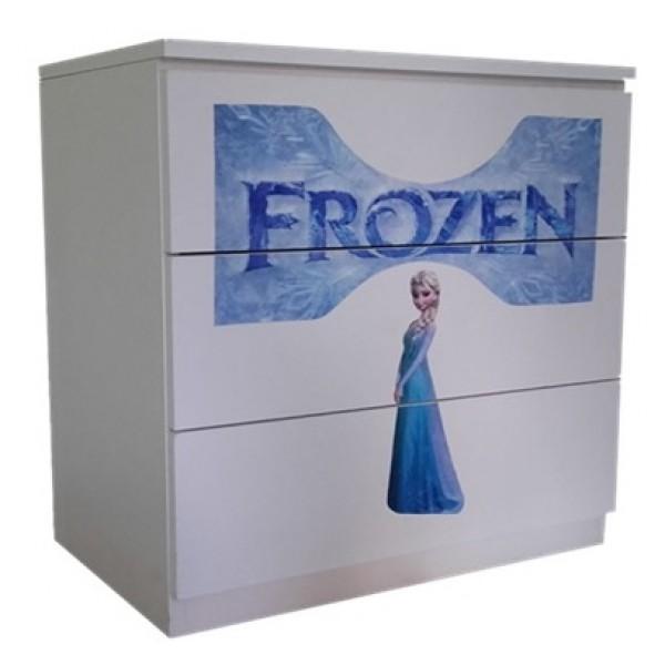 Comoda cu sertare pentru fetite Frozen