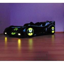 Pat copii Batmobil cu lumini
