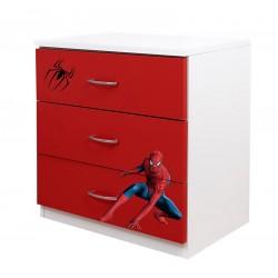 Comoda 3 sertare Spiderman