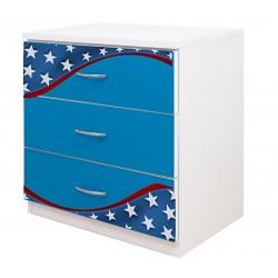 Comoda 3 sertare Captain America