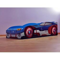 Pat Captain America pentru saltea 200x100 cm
