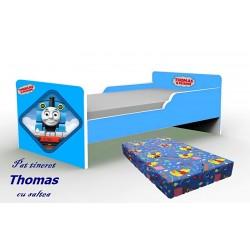 Pat tineret Thomas cu saltea