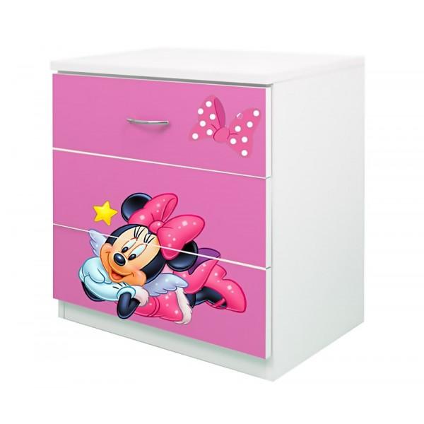 Comoda 3 sertare Minnie