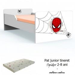 Pat tineret Spider cu saltea