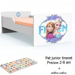 Pat tineret Frozen cu saltea