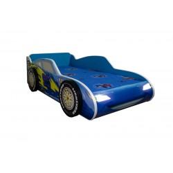 Pat masina Fmq albastru cu lumini