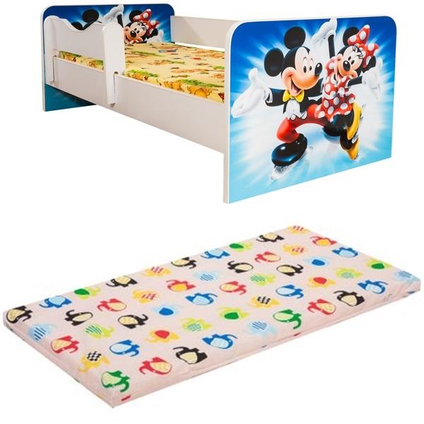 Promo junior Minnie&Mickey cu saltea